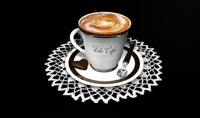 Cappuccino con cioccolatino