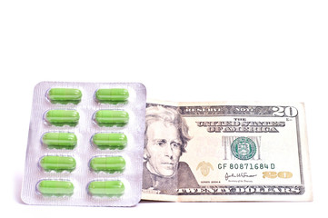 Dollars and pills