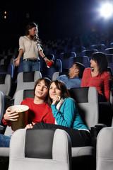 Cinema viewing