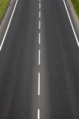 empty tarmac road