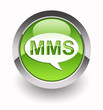 ''MMS'' glossy icon