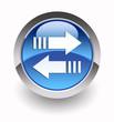 ''Data transfer'' glossy icon