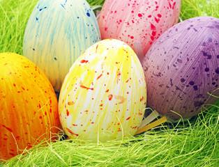 Colourful Easter Eggs - Farbige Ostereier