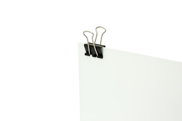 Paper clamp holding papers