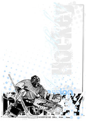 ice hockey background 3