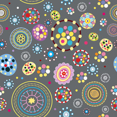 Abstract seamless pattern. vector illustration