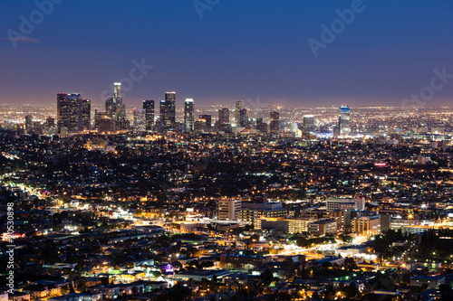 Fototapeta Downtown Los Angeles