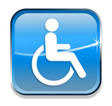 Disabled sign/icon poster
