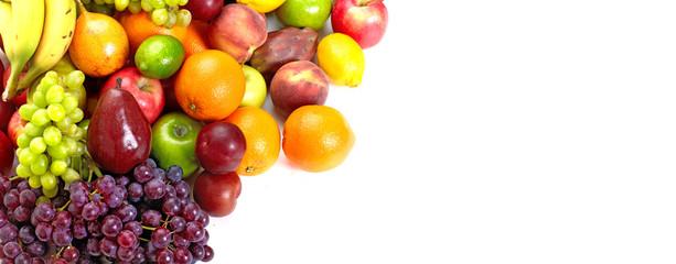 Fresh tropical fruits.