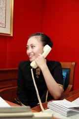 secretary calling