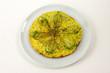 frittata con fiori di zucchine