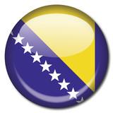 Chapa bandera Bosnia Herzegovina poster
