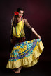 Gypsy woman dance