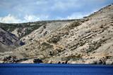Croatian rugged coastline poster