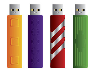 Various USB sticks set 2
