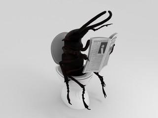 Toilet bug