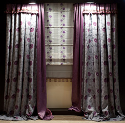 Luxurious window curtains