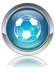 SOCCER Button (Football World Cup Sport Ball Sign Symbol Vector)