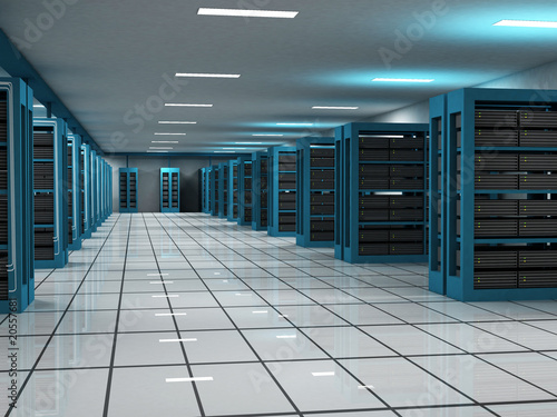Hosting and Server Room
