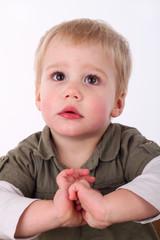 Erwartungsvolles Kind