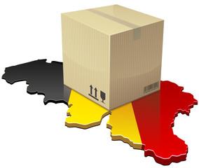 Livraison en Belgique (détouré)