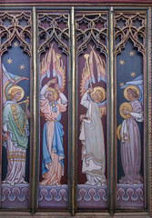 Icon painted in Ely Cathedral