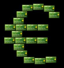 Euro credit card