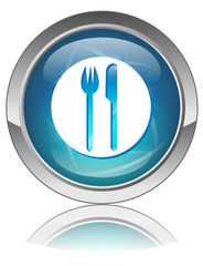 RESTAURANT Web Button (Cuisine Food Tourism Hotel Guide Reviews)