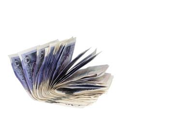 Twenty Pound Notes stack