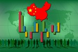 Background green for statistics in China