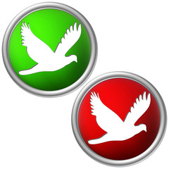 Button für Vogelzucht vogelgeeignet ja nein