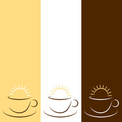 3 Cups & Sun