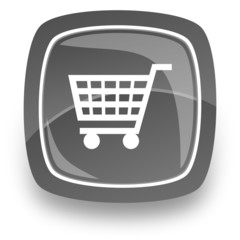 shopping cart internet icon
