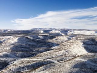 Snowy Hill Landscape