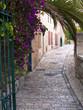 Neighborhood in old Jerusalem of Yemin Moshe.