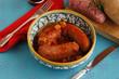 Salsicce patate e cipolla - Secondi di carne