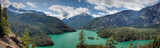 El Diablo Lake panorama