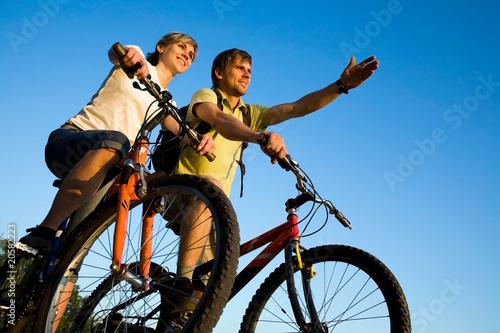 Poster bicycler