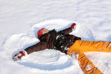 Schneeengel