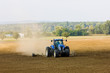 tractor on field, Czech Republic