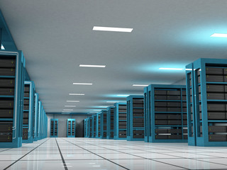Internet Host and Server Room