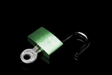 Lock open