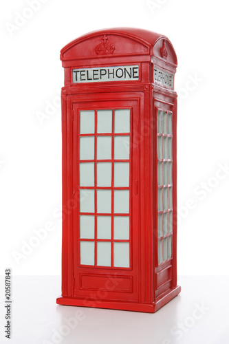 British Red Phone booth