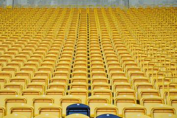 Rudolph Harbig Stadion - Sitzschalenkunst