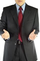 Business man suit style