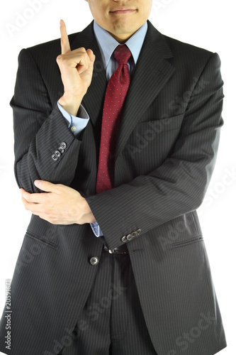 Business main suit style