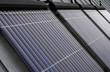capteurs solaires sur un immeuble