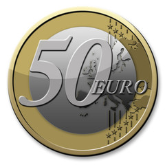 50 Euro-Münze