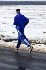 Senior runner