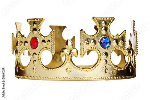 A crown isolated on white background - 20604219
